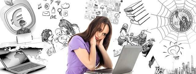 Woman Burnout Multitasking - Free image on Pixabay (363795)