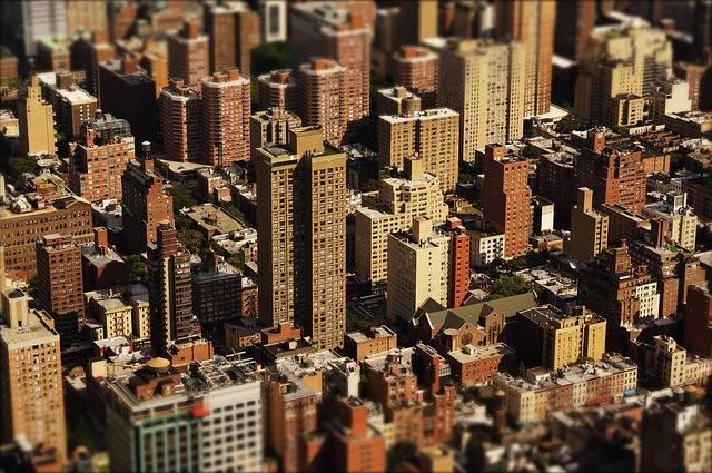 Skyscraper Houses City - Free photo on Pixabay (365861)