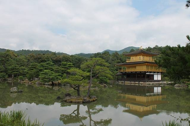 Golden Pavilion Japan Water - Free photo on Pixabay (367300)