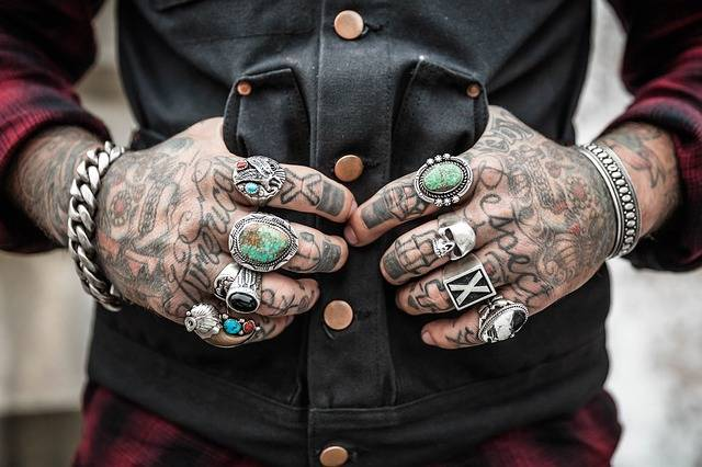 Hands Tattoos Rings - Free photo on Pixabay (368891)
