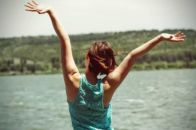 Happiness Back Side Woman - Free photo on Pixabay (370297)