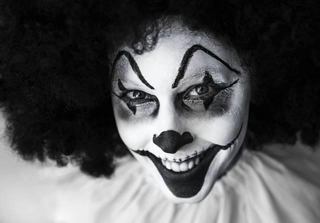 Clown Creepy Grinning - Free photo on Pixabay (371483)