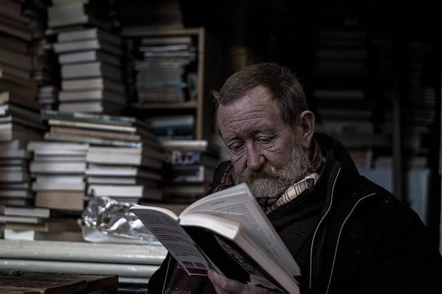 Reading Bookworm Man - Free photo on Pixabay (373835)