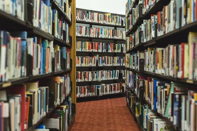Books Research Library - Free photo on Pixabay (373840)