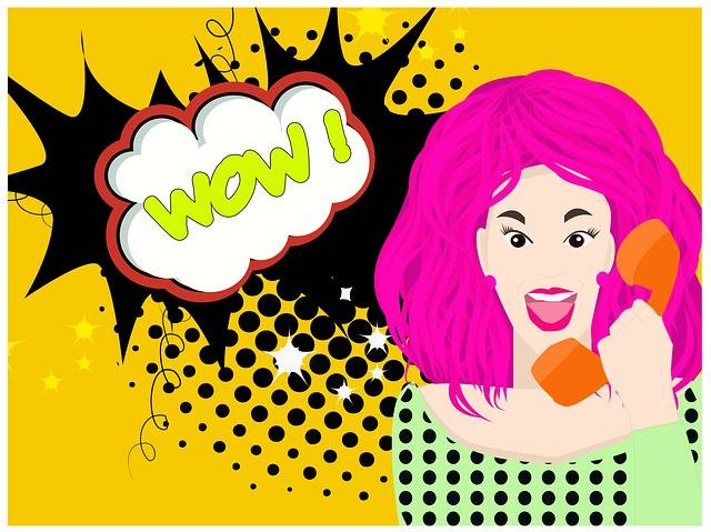 Wow Speech Bubble Woman - Free image on Pixabay (378948)