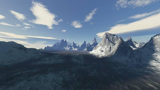 Mountain Snow Panoramic - Free photo on Pixabay (380066)
