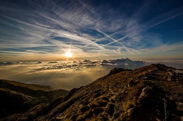 Dawn Sun Mountain - Free photo on Pixabay (382634)