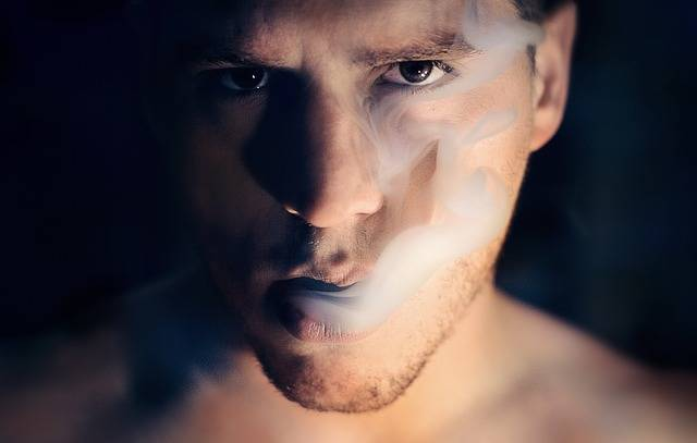 Man Smoke Portrait - Free photo on Pixabay (385389)