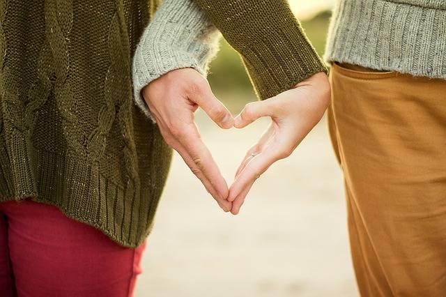 Hands Heart Couple - Free photo on Pixabay (391042)
