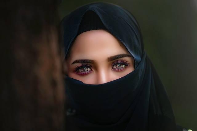 Hijab Headscarf Portrait - Free photo on Pixabay (394618)