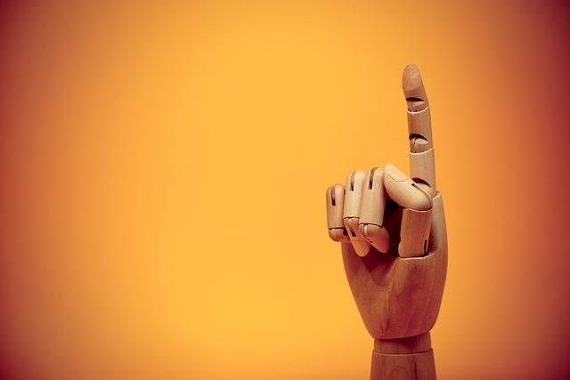 Finger Forefinger Gesture - Free photo on Pixabay (394816)