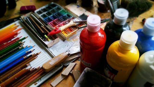 Painting Pencils Pens - Free photo on Pixabay (396854)