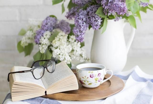Coffee Book Flowers - Free photo on Pixabay (404516)