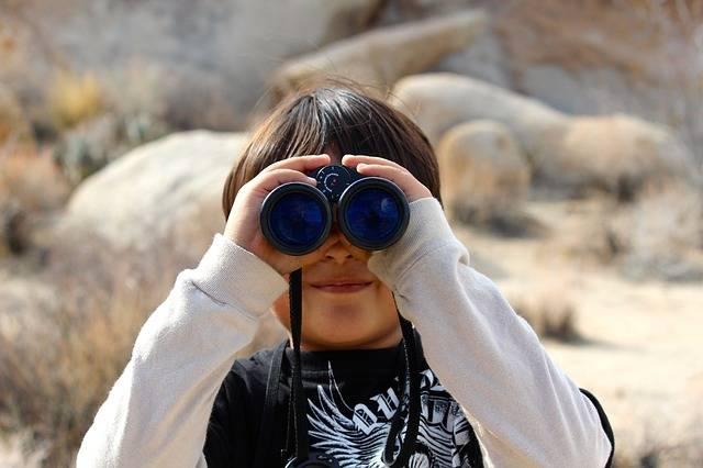 Binoculars Child Magnification - Free photo on Pixabay (405157)