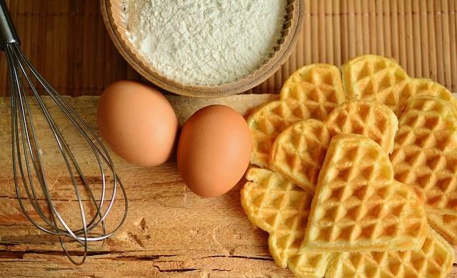 Waffles Bake Ingredients - Free photo on Pixabay (406465)