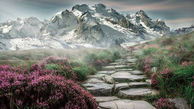 Mountain Landscape Mountains - Free photo on Pixabay (407581)