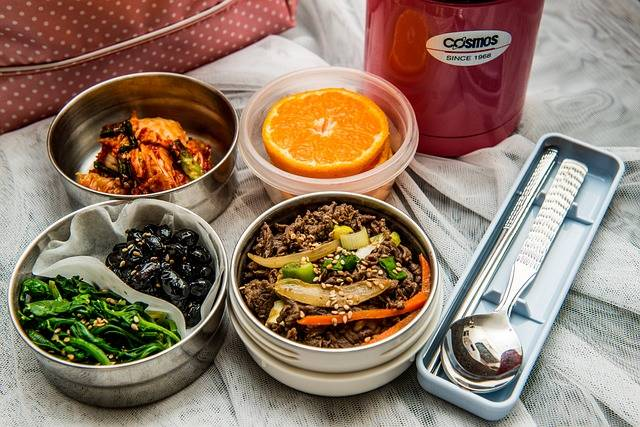 Lunch Box Dishes Korean Side - Free photo on Pixabay (412468)