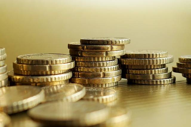Golden Loose Change Euro Cent - Free photo on Pixabay (415484)