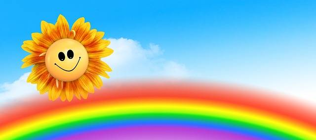 Sun Rainbow Clouds - Free image on Pixabay (427250)