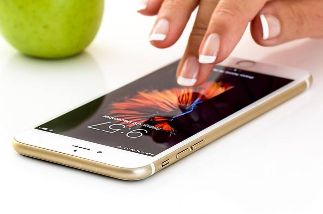 Smartphone Cellphone Apple I Phone - Free photo on Pixabay (428922)