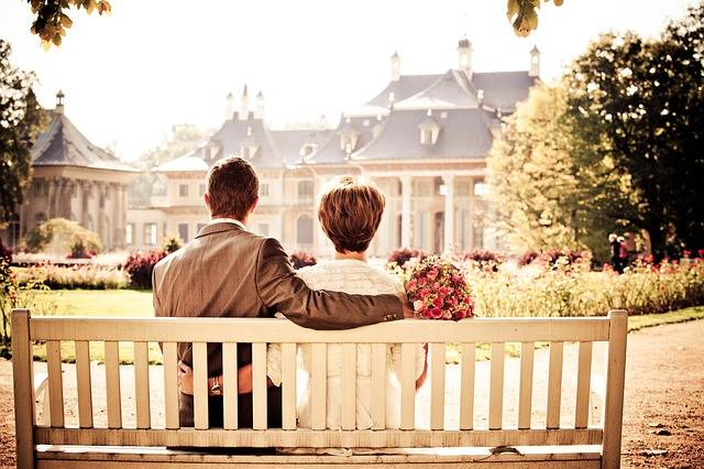 Couple Bride Love - Free photo on Pixabay (429404)