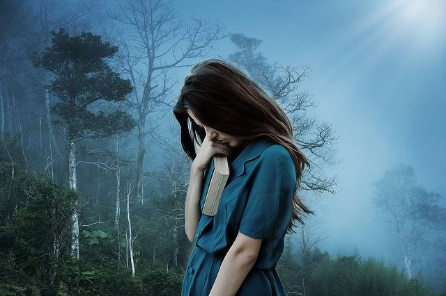 Girl Sadness Loneliness - Free photo on Pixabay (459989)