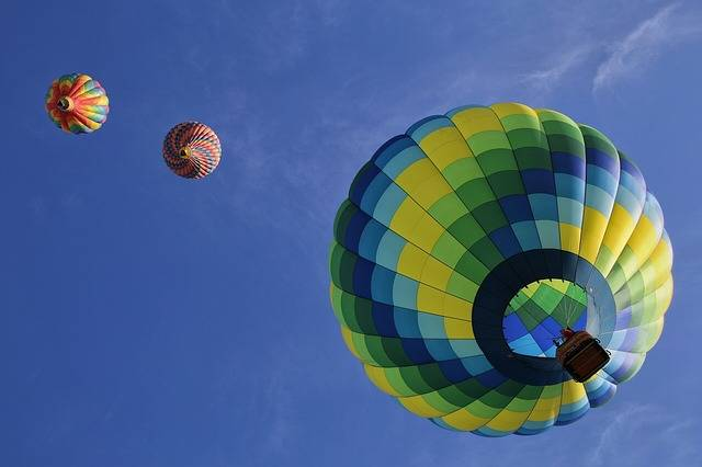 Hot Air Balloons Floating Fun - Free photo on Pixabay (461622)