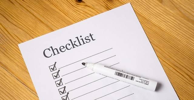 Checklist Check List - Free image on Pixabay (463722)