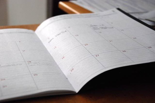 Day Planner Calendar Organizer - Free photo on Pixabay (470918)
