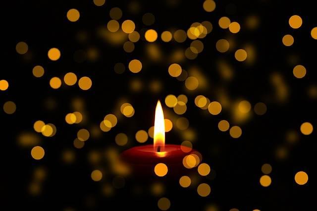 Mourning Candle Obituary - Free photo on Pixabay (479697)