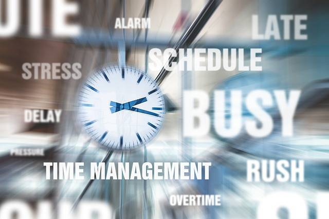 Hurry Stress Time Management - Free image on Pixabay (481585)