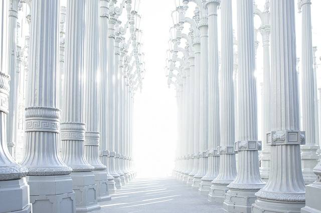 Columns Hallway Architecture - Free photo on Pixabay (482972)