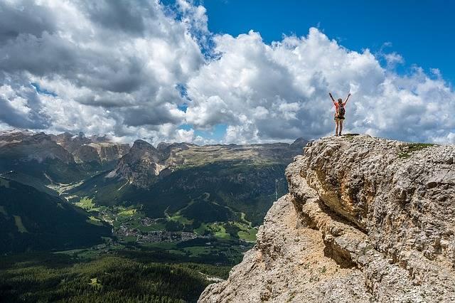 Person Mountain Top Achieve - Free photo on Pixabay (483074)