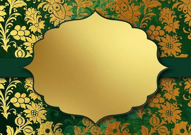 Background Image Gold Floral - Free image on Pixabay (507944)