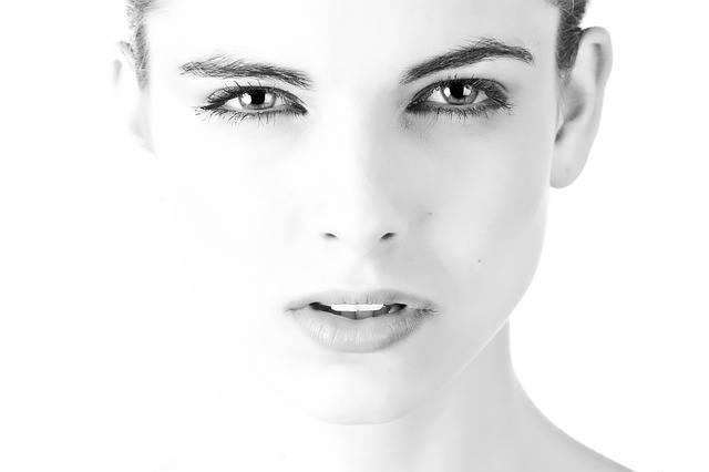 Model Face Beautiful Black And - Free photo on Pixabay (536666)