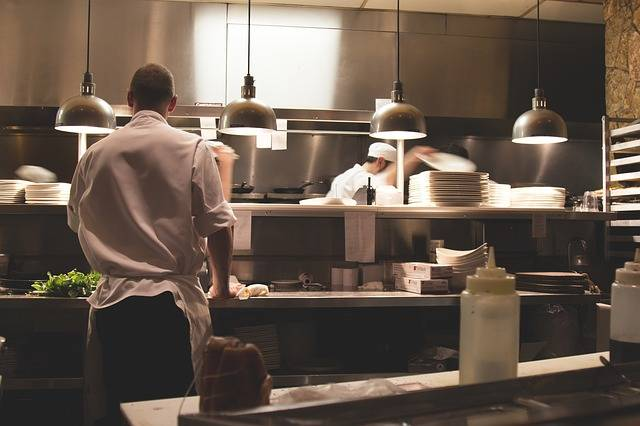 Kitchen Work Restaurant - Free photo on Pixabay (538892)