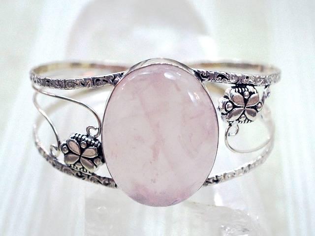 Jewelry Rose Quartz Pink - Free photo on Pixabay (548443)
