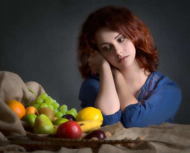 Girl Woman Fruit - Free photo on Pixabay (549770)