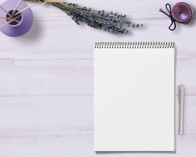 Notepad Table Decoration - Free photo on Pixabay (553622)
