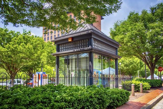 Johns Hopkins Hospital Subway Stop - Free photo on Pixabay (562809)