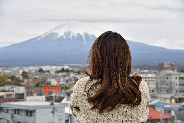 Mt Fuji Cloudy Sky Longing - Free photo on Pixabay (563781)