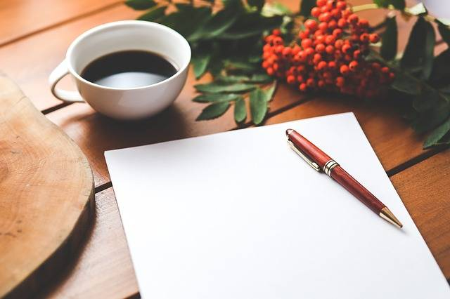 Blank Paper Pen - Free photo on Pixabay (564661)