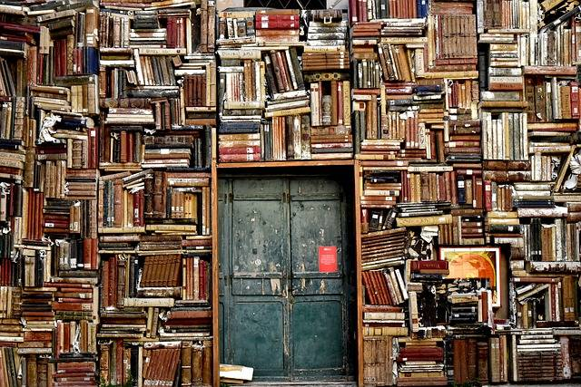 Books Door Entrance - Free photo on Pixabay (564674)