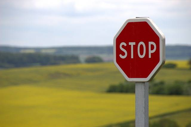 Stop Shield Traffic Sign Road - Free photo on Pixabay (564676)