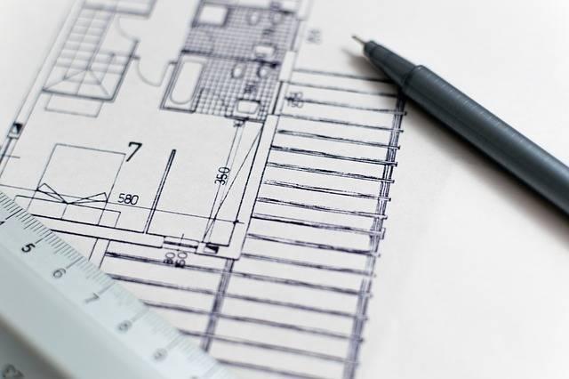 Architecture Blueprint Floor Plan - Free photo on Pixabay (564679)