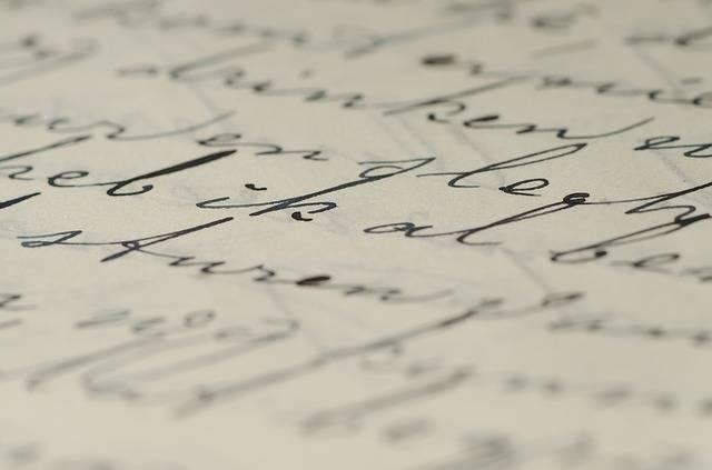 Letter Handwriting Written - Free photo on Pixabay (565272)
