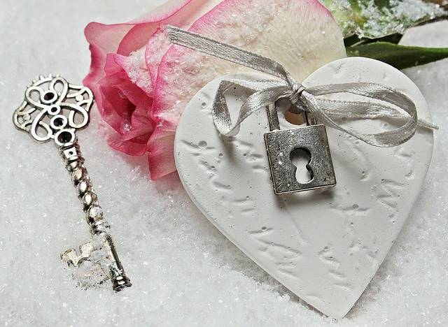 Heart Key Rose - Free photo on Pixabay (573687)