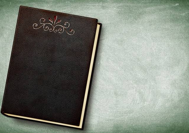 Book Embossing Leather - Free photo on Pixabay (584524)