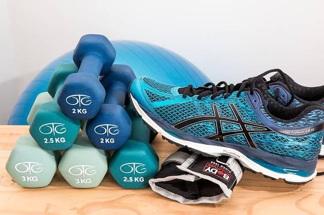 Dumbbells Training Fitness - Free photo on Pixabay (587944)