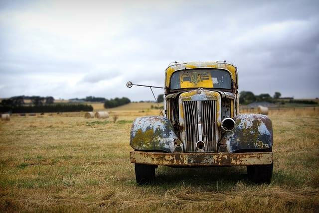 Rusted Truck Old - Free photo on Pixabay (590094)